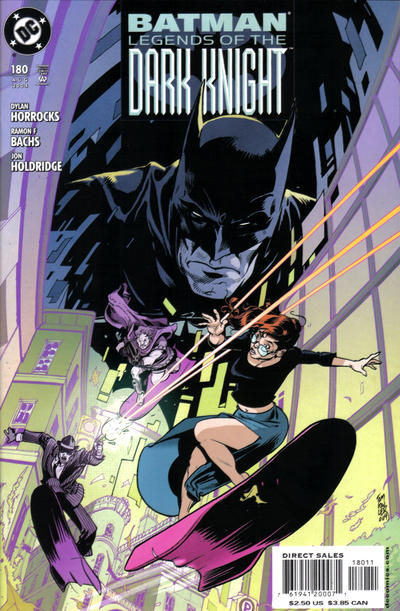 Cover for Batman: Legends of the Dark Knight (DC, 1992 series) #180