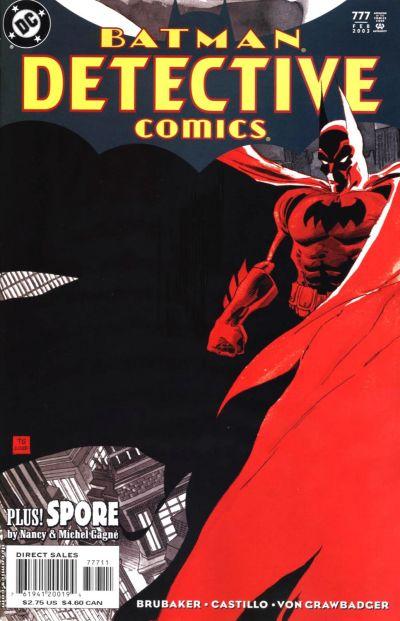 Cover for Detective Comics (DC, 1937 series) #777