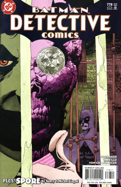 Cover for Detective Comics (DC, 1937 series) #778