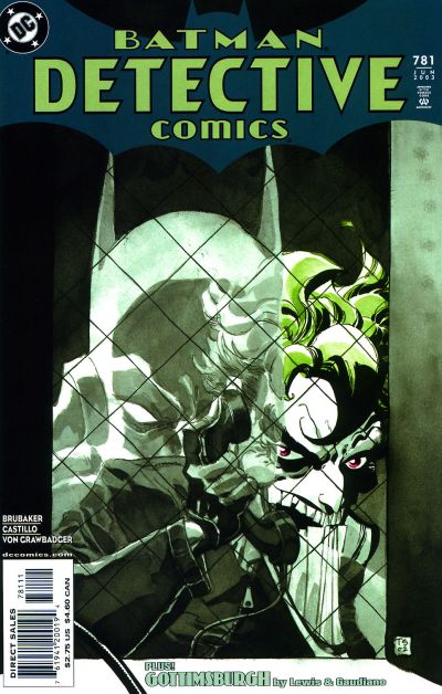 Cover for Detective Comics (DC, 1937 series) #781