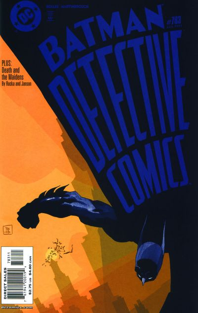 Cover for Detective Comics (DC, 1937 series) #783