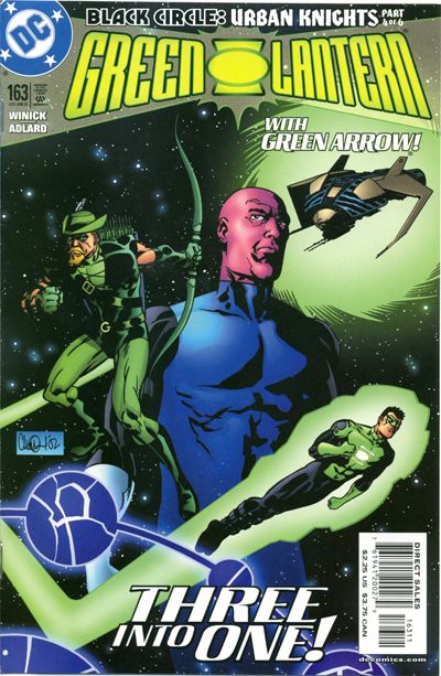 Cover for Green Lantern (DC, 1990 series) #163
