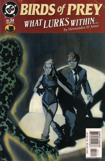 Cover for Birds of Prey (DC, 1999 series) #51