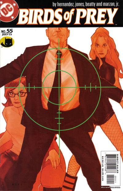 Cover for Birds of Prey (DC, 1999 series) #55