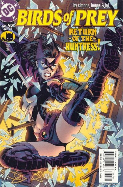 Cover for Birds of Prey (DC, 1999 series) #57