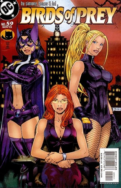Cover for Birds of Prey (DC, 1999 series) #59 [Newsstand]