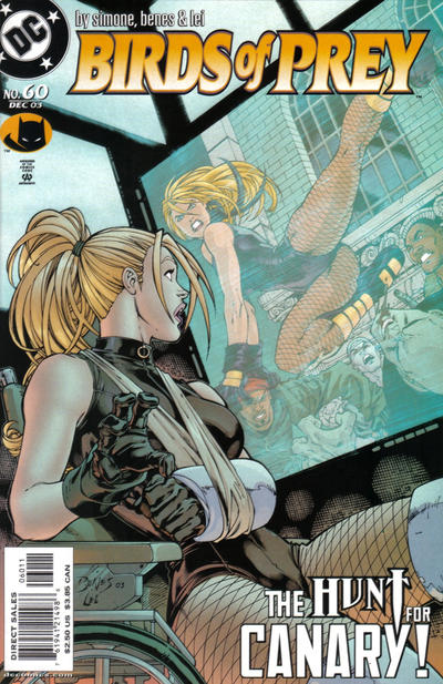 Cover for Birds of Prey (DC, 1999 series) #60