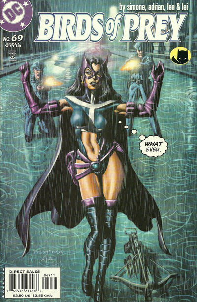 Cover for Birds of Prey (DC, 1999 series) #69