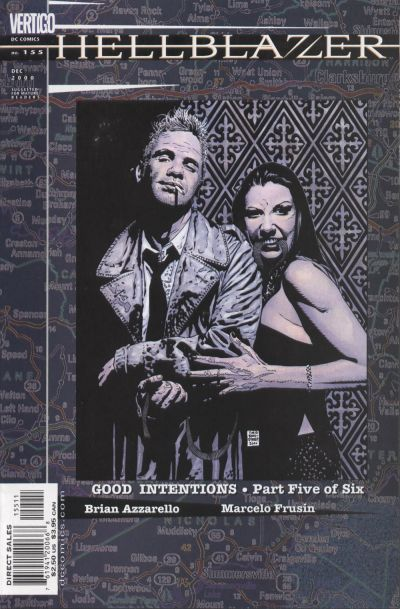 Cover for Hellblazer (DC, 1988 series) #155