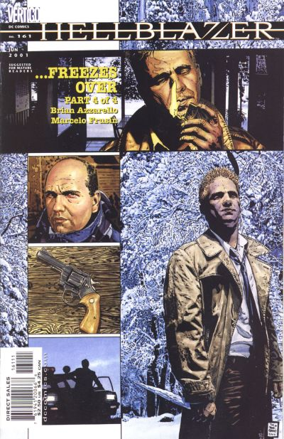 Cover for Hellblazer (DC, 1988 series) #161