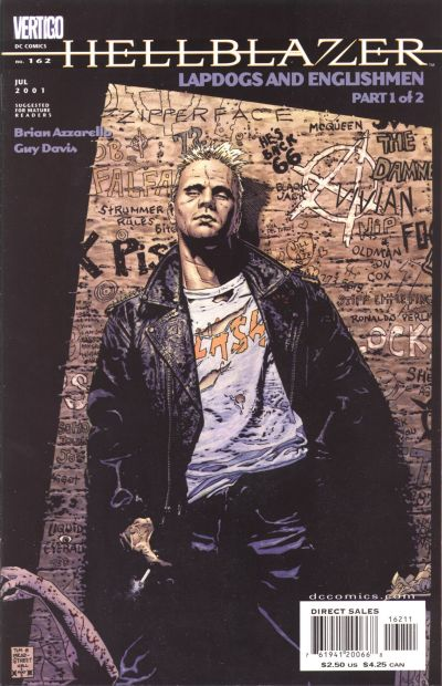 Cover for Hellblazer (DC, 1988 series) #162