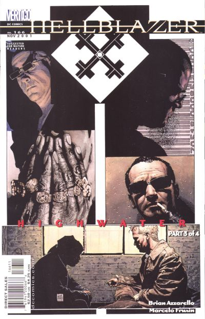 Cover for Hellblazer (DC, 1988 series) #166