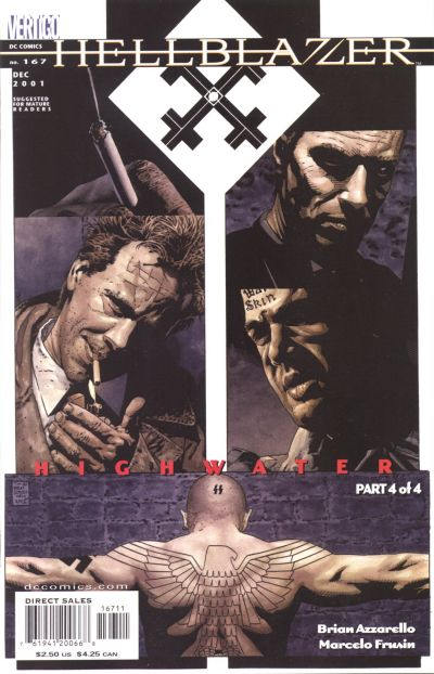 Cover for Hellblazer (DC, 1988 series) #167