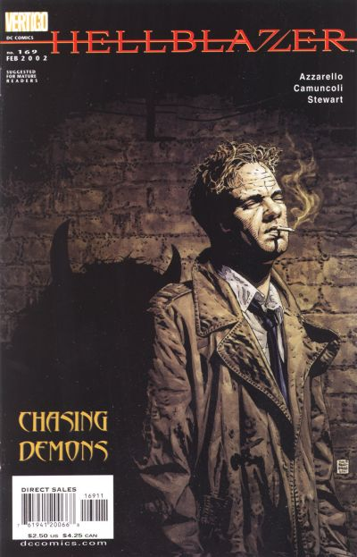 Cover for Hellblazer (DC, 1988 series) #169
