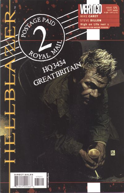 Cover for Hellblazer (DC, 1988 series) #175