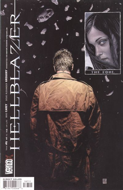 Cover for Hellblazer (DC, 1988 series) #187