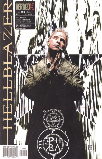 Cover for Hellblazer (DC, 1988 series) #189