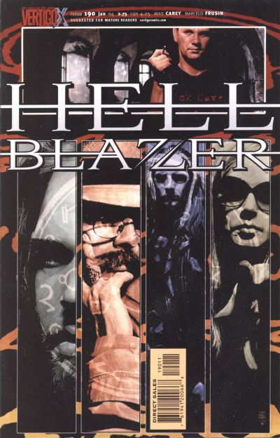 Cover for Hellblazer (DC, 1988 series) #190