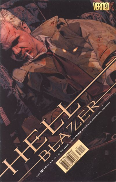 Cover for Hellblazer (DC, 1988 series) #191
