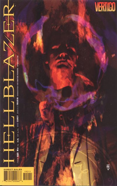 Cover for Hellblazer (DC, 1988 series) #192