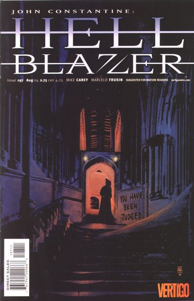 Cover for Hellblazer (DC, 1988 series) #197