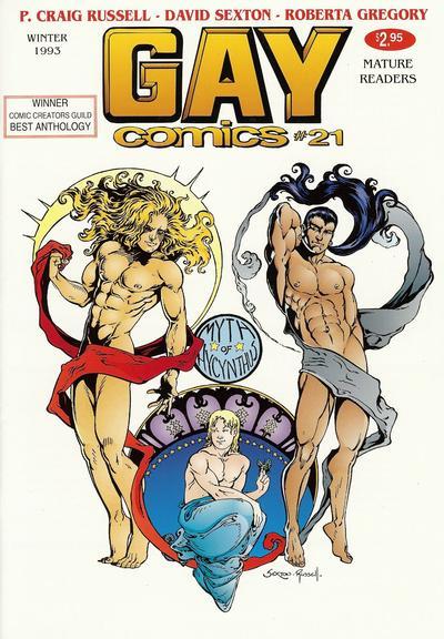 Cover for Gay Comics (Bob Ross, 1992 series) #21