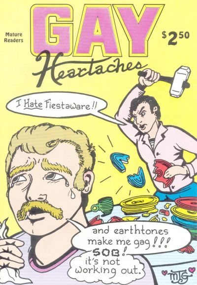 Cover for Gay Comix (Bob Ross, 1985 series) #13