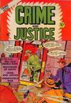 Cover for Crime and Justice (Charlton, 1951 series) #3