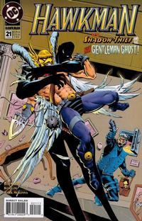 Cover Thumbnail for Hawkman (DC, 1993 series) #21