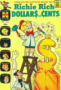 Cover Thumbnail for Richie Rich Dollars and Cents (Harvey, 1963 series) #1