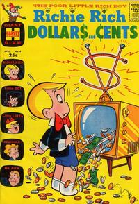 Cover Thumbnail for Richie Rich Dollars and Cents (Harvey, 1963 series) #4