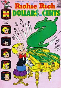 Cover Thumbnail for Richie Rich Dollars and Cents (Harvey, 1963 series) #7