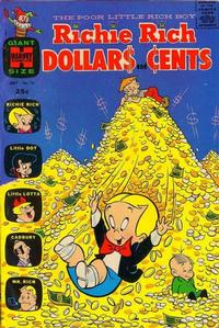 Cover Thumbnail for Richie Rich Dollars and Cents (Harvey, 1963 series) #13