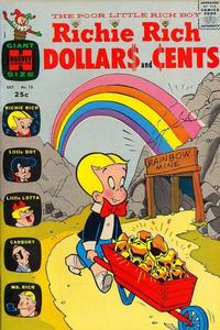Cover Thumbnail for Richie Rich Dollars and Cents (Harvey, 1963 series) #15