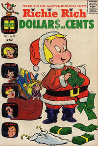 Cover Thumbnail for Richie Rich Dollars and Cents (Harvey, 1963 series) #17