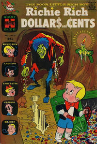 Cover Thumbnail for Richie Rich Dollars and Cents (Harvey, 1963 series) #21