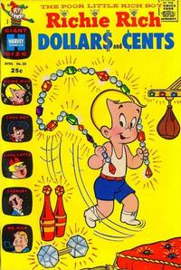 Cover Thumbnail for Richie Rich Dollars and Cents (Harvey, 1963 series) #23