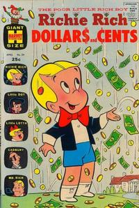 Cover Thumbnail for Richie Rich Dollars and Cents (Harvey, 1963 series) #29
