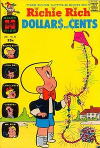Cover Thumbnail for Richie Rich Dollars and Cents (Harvey, 1963 series) #34