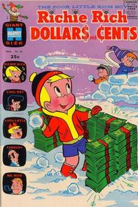 Cover Thumbnail for Richie Rich Dollars and Cents (Harvey, 1963 series) #35