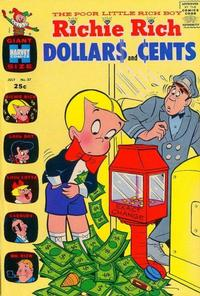 Cover Thumbnail for Richie Rich Dollars and Cents (Harvey, 1963 series) #37