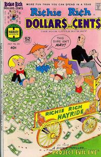 Cover Thumbnail for Richie Rich Dollars and Cents (Harvey, 1963 series) #80