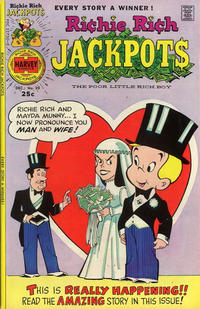 Cover Thumbnail for Richie Rich Jackpots (Harvey, 1972 series) #20