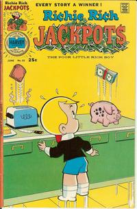 Cover Thumbnail for Richie Rich Jackpots (Harvey, 1972 series) #23