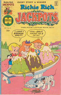 Cover Thumbnail for Richie Rich Jackpots (Harvey, 1972 series) #31