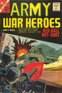 Cover Thumbnail for Army War Heroes (Charlton, 1963 series) #3