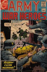 Cover Thumbnail for Army War Heroes (Charlton, 1963 series) #21