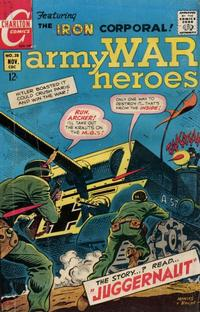 Cover Thumbnail for Army War Heroes (Charlton, 1963 series) #28