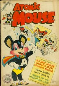 Cover Thumbnail for Atomic Mouse (Charlton, 1953 series) #10