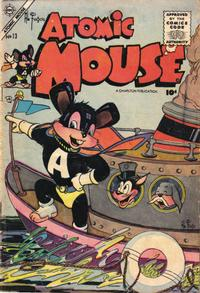 Cover Thumbnail for Atomic Mouse (Charlton, 1953 series) #13